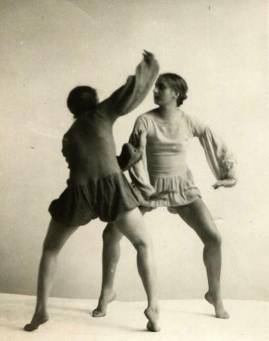 Selma Genthe. Expressionist dance 1926. Via finestvintagephotography