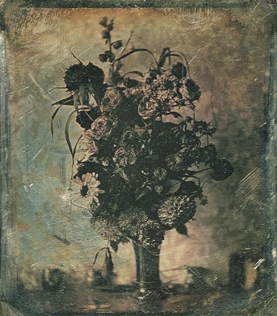 Still life, bouquet of flowers 1845. Via geh