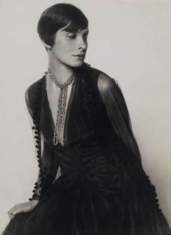 Trude Fleischmann. L'actrice Sibylle Binder vers 1928. Via artnet