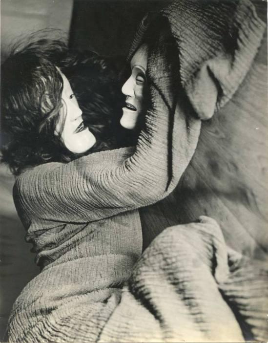 Unknown photographer. Dance masks 1930. Via anamorfose