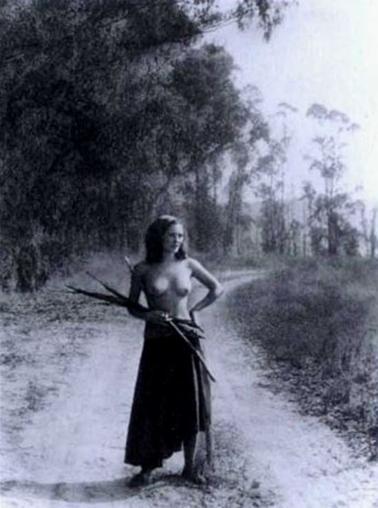 William Mortensen. A romany maid 1935. Via artnet