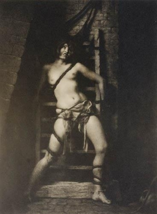 William Mortensen. The spider torture 1926. Via mutualart