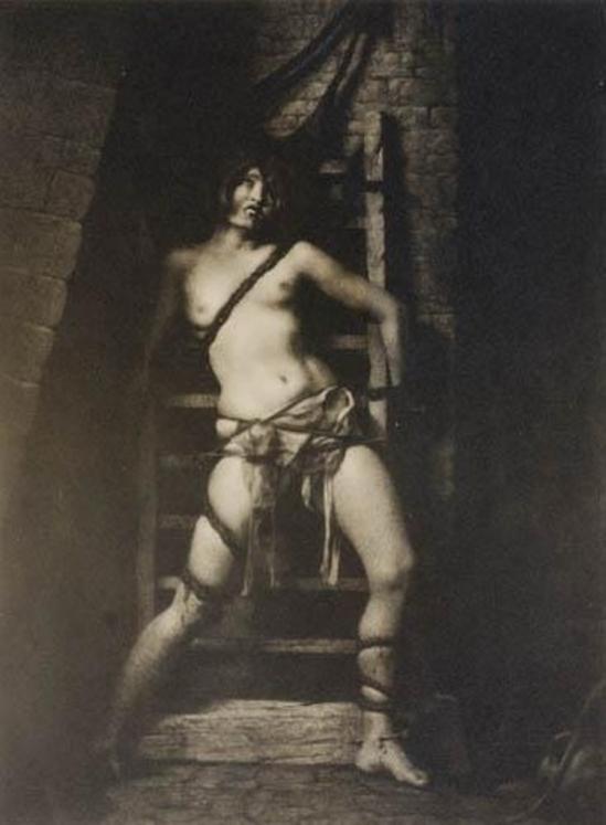 William Mortensen. The spider torture 1926. Via mutualart
