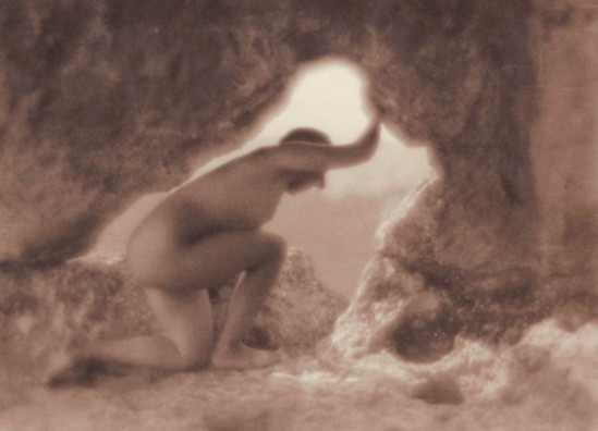 Yuri Eremin. In a cave 1926. Via mamm