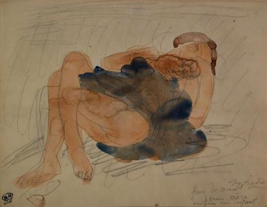Auguste Rodin. Fleur de sommeil