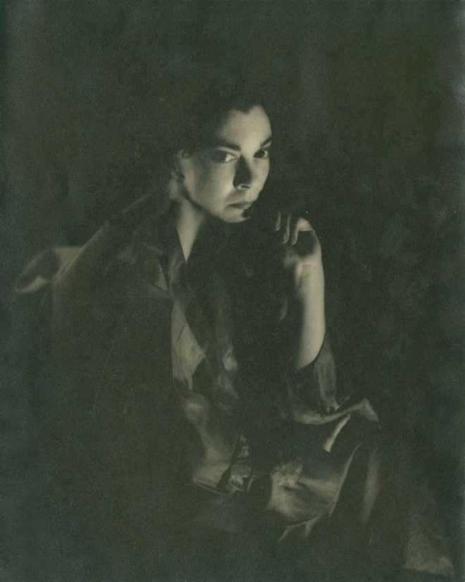 Germaine Kanova. Leonor Fini in London 1949. Via auction.fr
