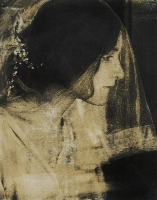 Gertrude Käsebier. The bride 1904-1905. Via artmuseum