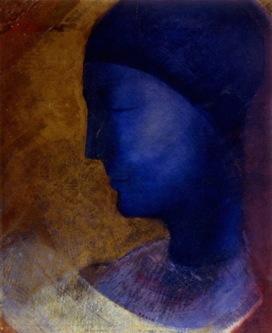 Odilon Redon. La cellule d'or