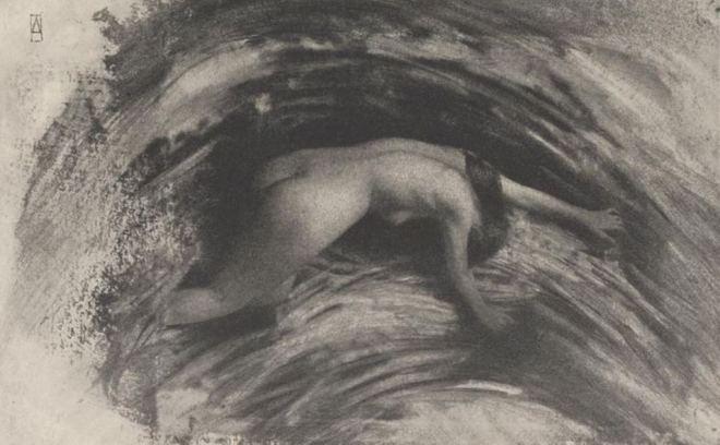 Robert Demachy. Struggle 1903. Via ccpemuseum