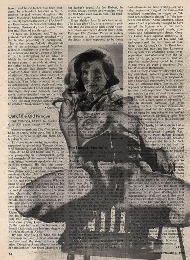 Robert Heinecken. Time magazine 3rd group 1972. Via ccpemuseum
