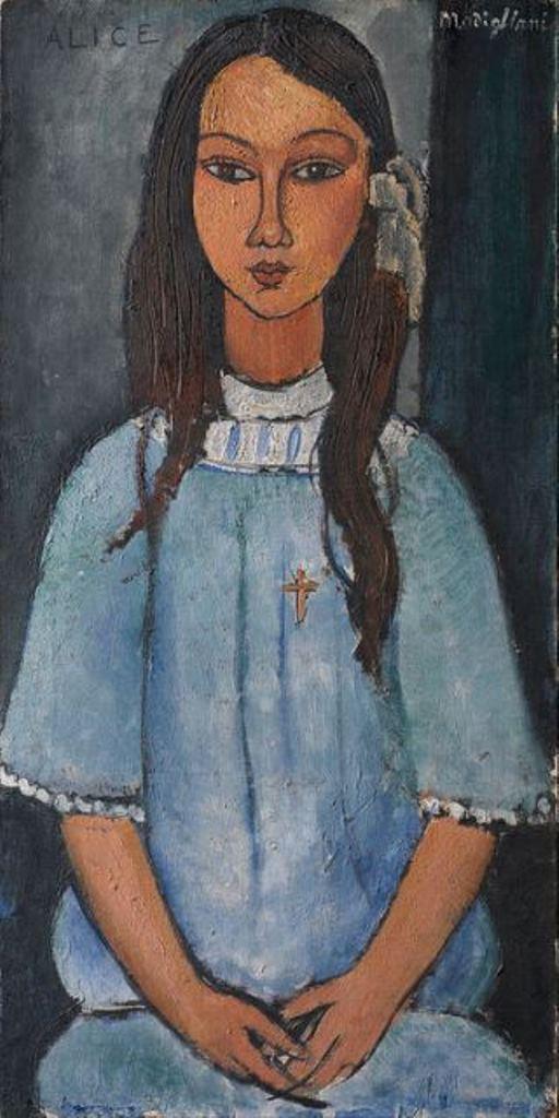 Amedeo Modigliani. Alice 1918