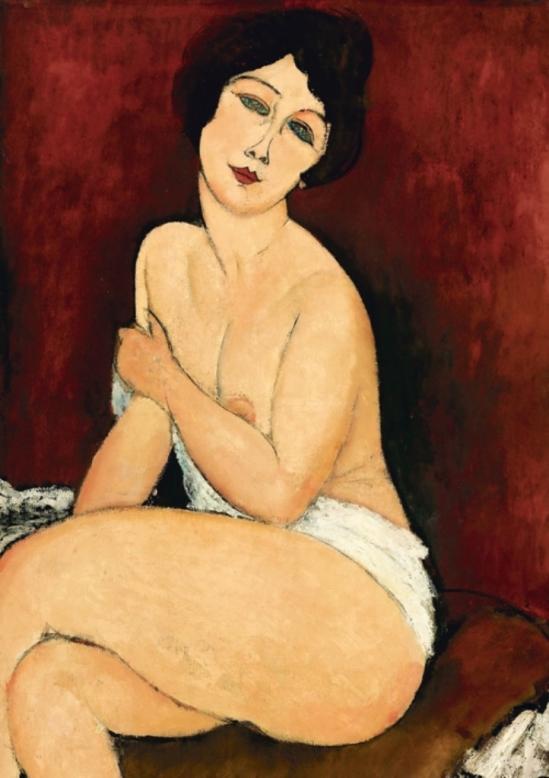 Amedeo Modigliani. Cariatide 1914