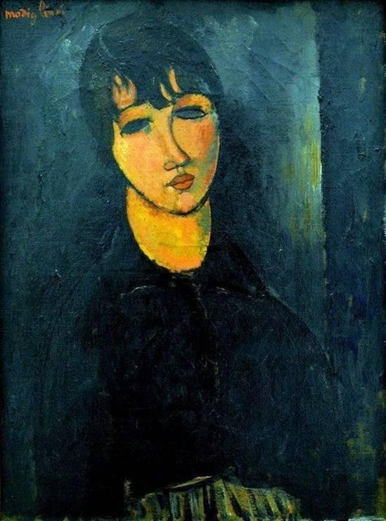 Amedeo Modigliani. La petite servante  1916