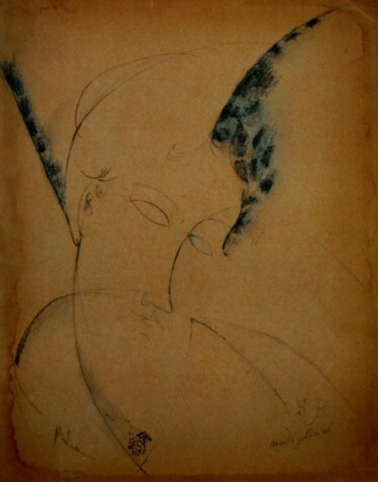 Amedeo Modigliani. Portrait of Beatrice