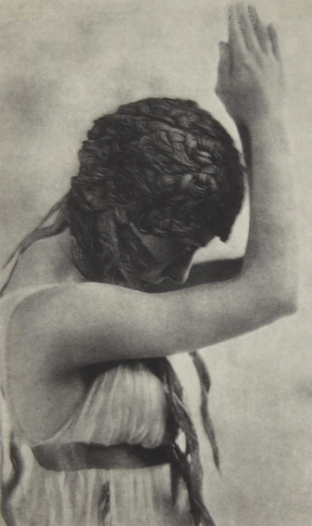 Baron Adolph de Meyer. Maenad dancing from Nijinsky, L'Après-midi d'un Faune  1912. Via artmuseum