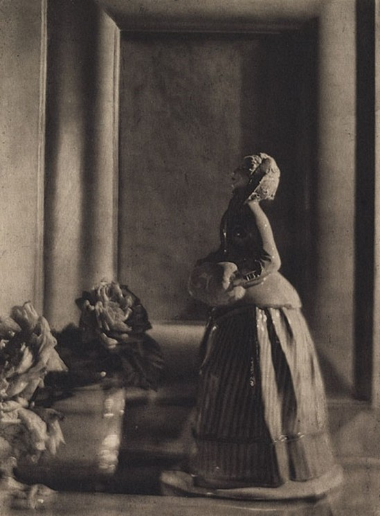 De Meyer, Baron Adolf. The nymphenburg figure 1912. Via photogravure
