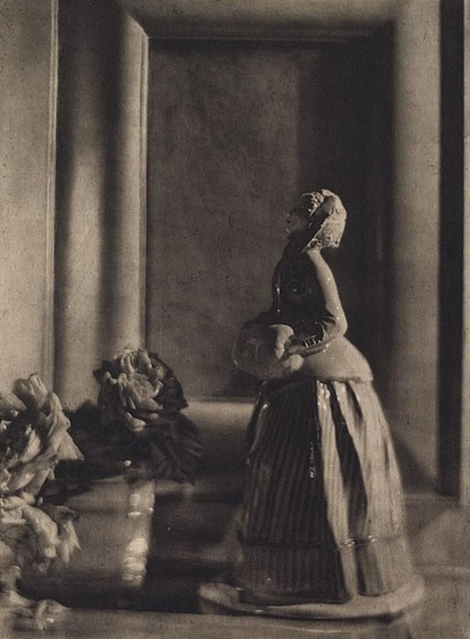 De Meyer, Baron Adolf. The nymphenburg figure 1912. Via photogravure