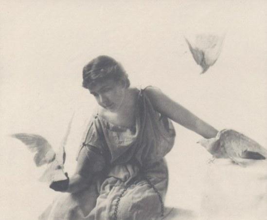 Emma Justine Farnsworth. Ode  1892. Via photoseed