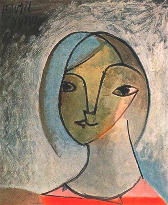 Pablo Picasso. Buste de femme 1936