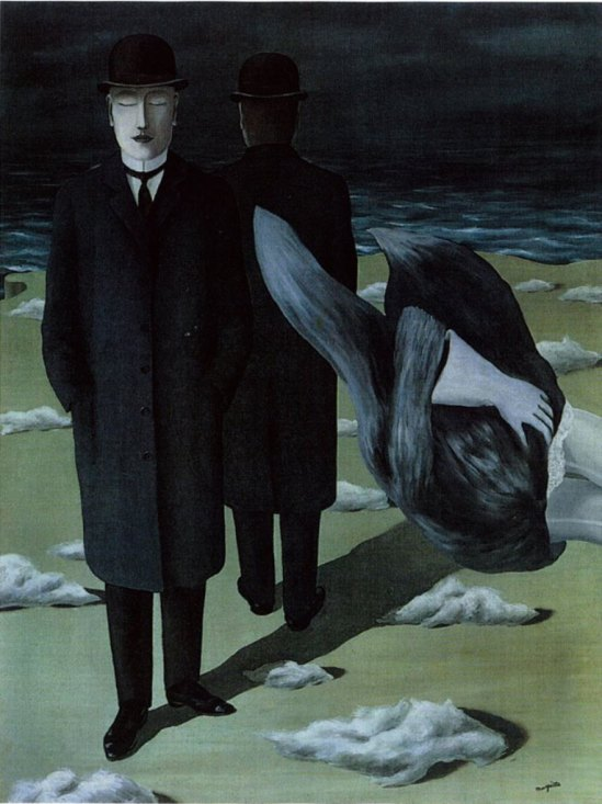René Magritte. The meaning of the night. Via artcentric on tumblr