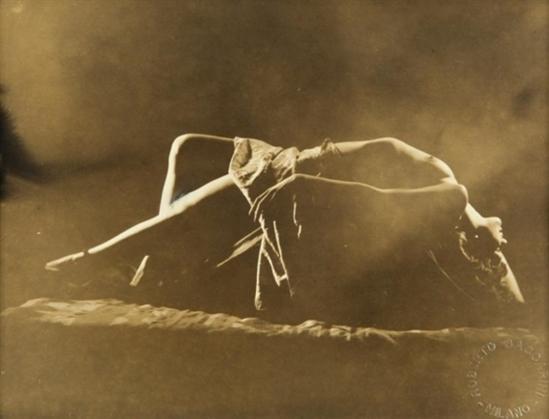Roberto Baccarini. Nude 1930. Via mutualart