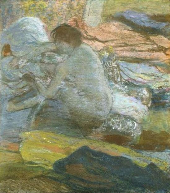 Edgar Degas. Femme s'essuyant les pieds