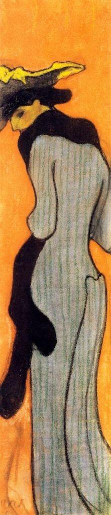 Edouard Vuillard. Le boa 1905