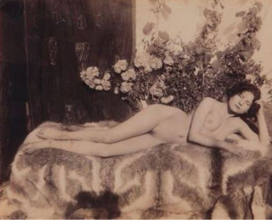 Guglielmo Pluschow. Sans titre 1900. Via yannlemouel