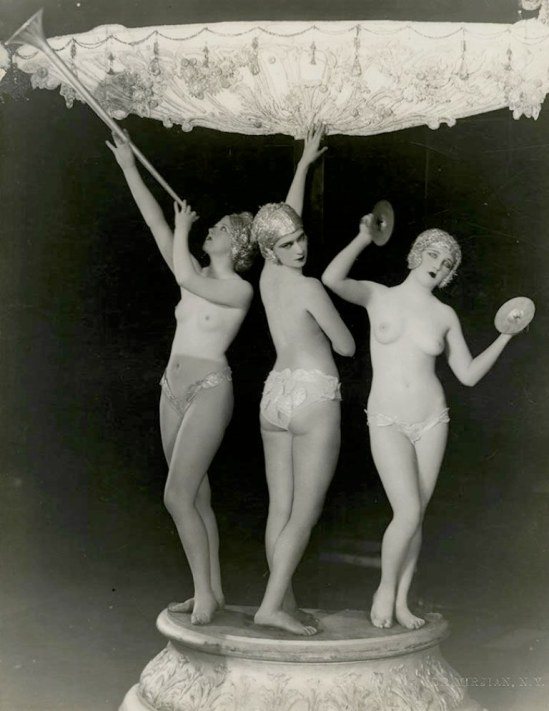 John de Mirjian. Erotic nude trio 1920. Via ebay