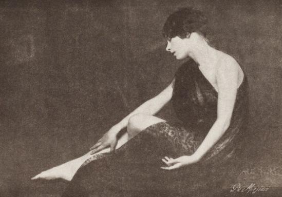 John De Mirjian. Sylvia Neirick De Mirjian 1926. Via historicalzg