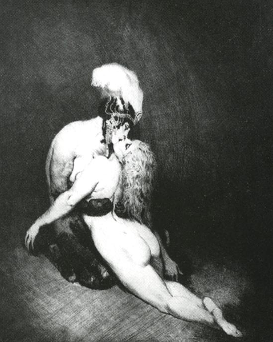 Norman Lindsay. Desire 1919