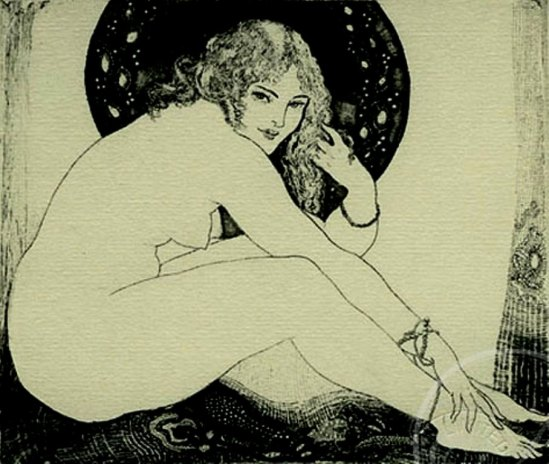 Norman Lindsay. The Anklet