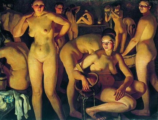 Zinaida Serebriakova. Sauna