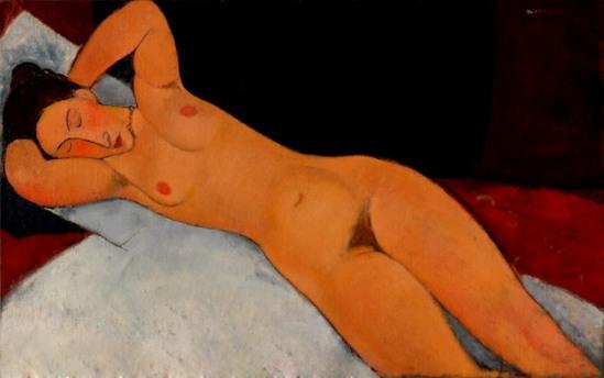 Amedeo Modigliani. Nude 1917