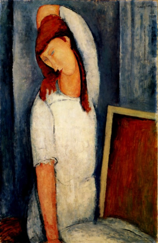 Amedeo Modigliani. Portrait of Jeanne Hébuterne 1919