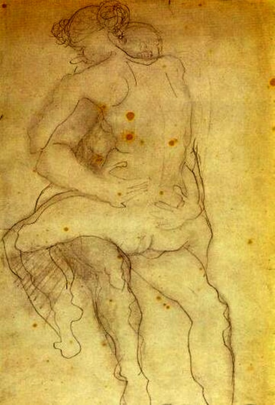 Auguste Rodin. Couple. Via musings on tumblr