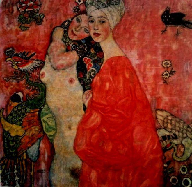 Gustav Klimt. The girlfriends