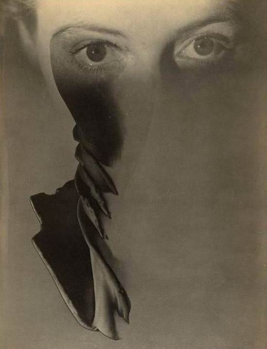 Max Dupain. Surreal face of a woman  1938