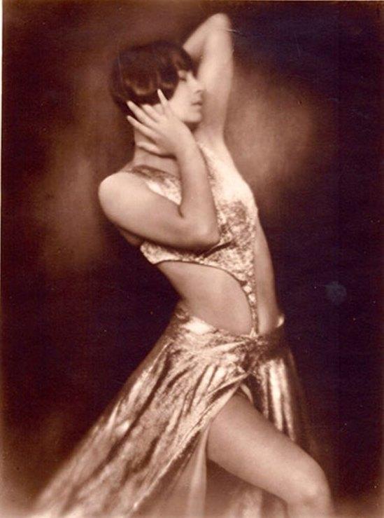 Yvonne Georgi als Salome 1929. Via SK Stiftung Kultur