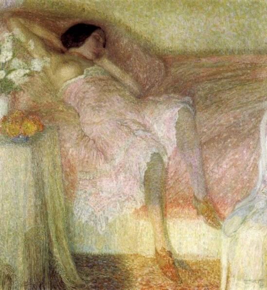 Léon De Smet. Harmonie en rose 1912