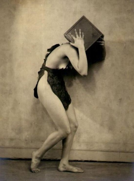 Nickolas Muray. Untitled female nude. Via goantique