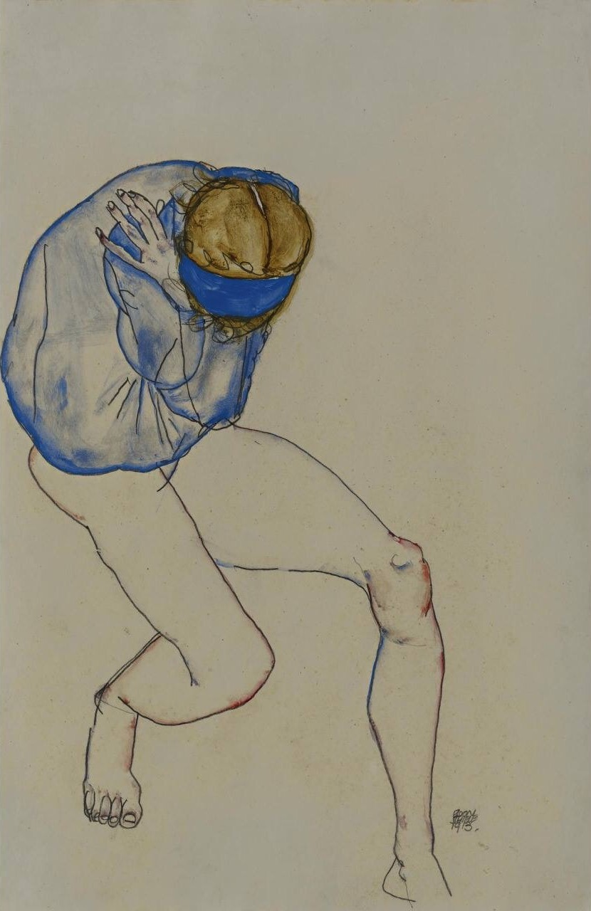 Egon Schiele 1913. Via archivarius on tumblr