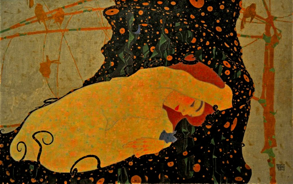 Egon Schiele. Danae