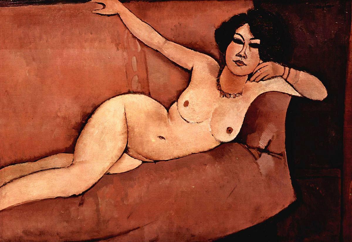 Amedeo Modigliani. Nu 1916
