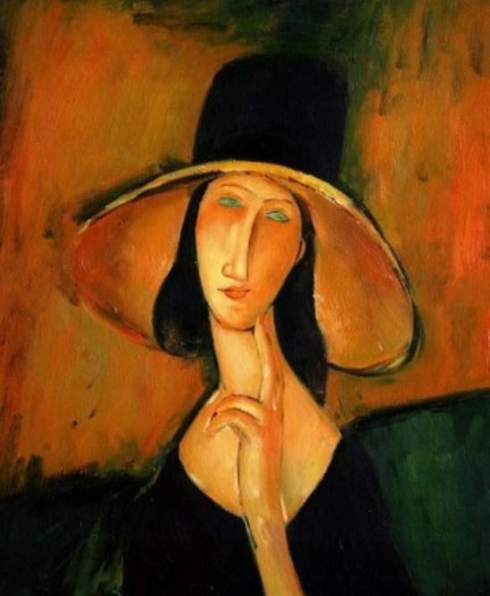 Amedeo Modigliani. Portrait de Jeanne Hébuterne 1918