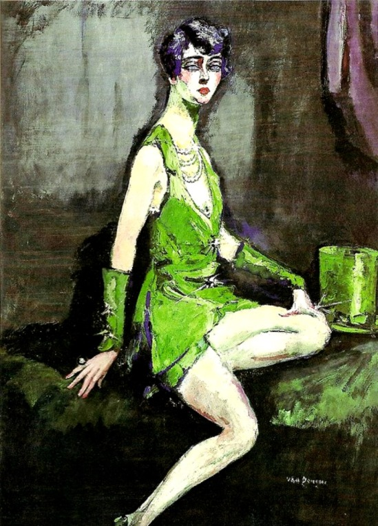 Kees van Dongen. L'écuyère 1920