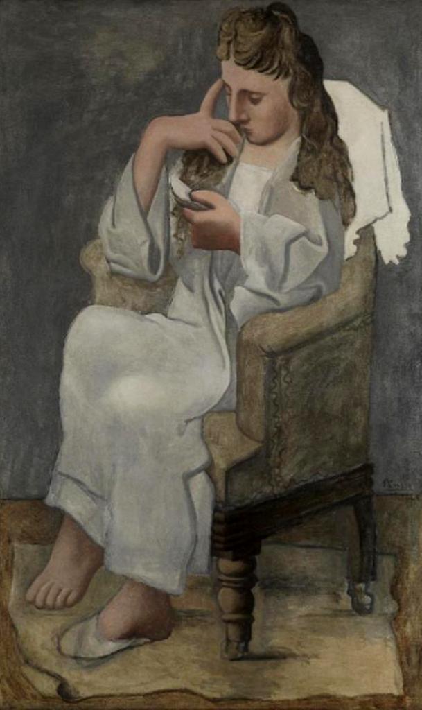 Pablo Picasso. La liseuse 1920