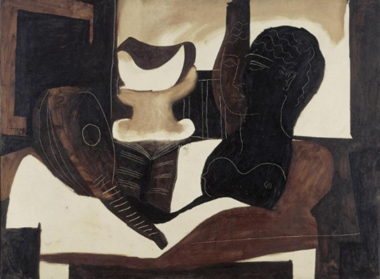 Pablo Picasso. Nature morte à la tête antique 1925