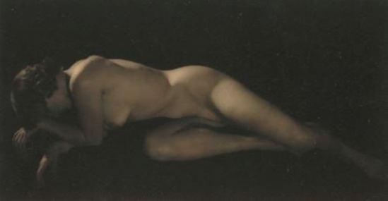 Alexander Grinberg. Nude study. Via artnet
