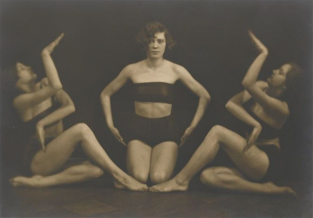 Alexander Grinberg. Untitled from the art of movement series by  1920- 1929. Via artnet